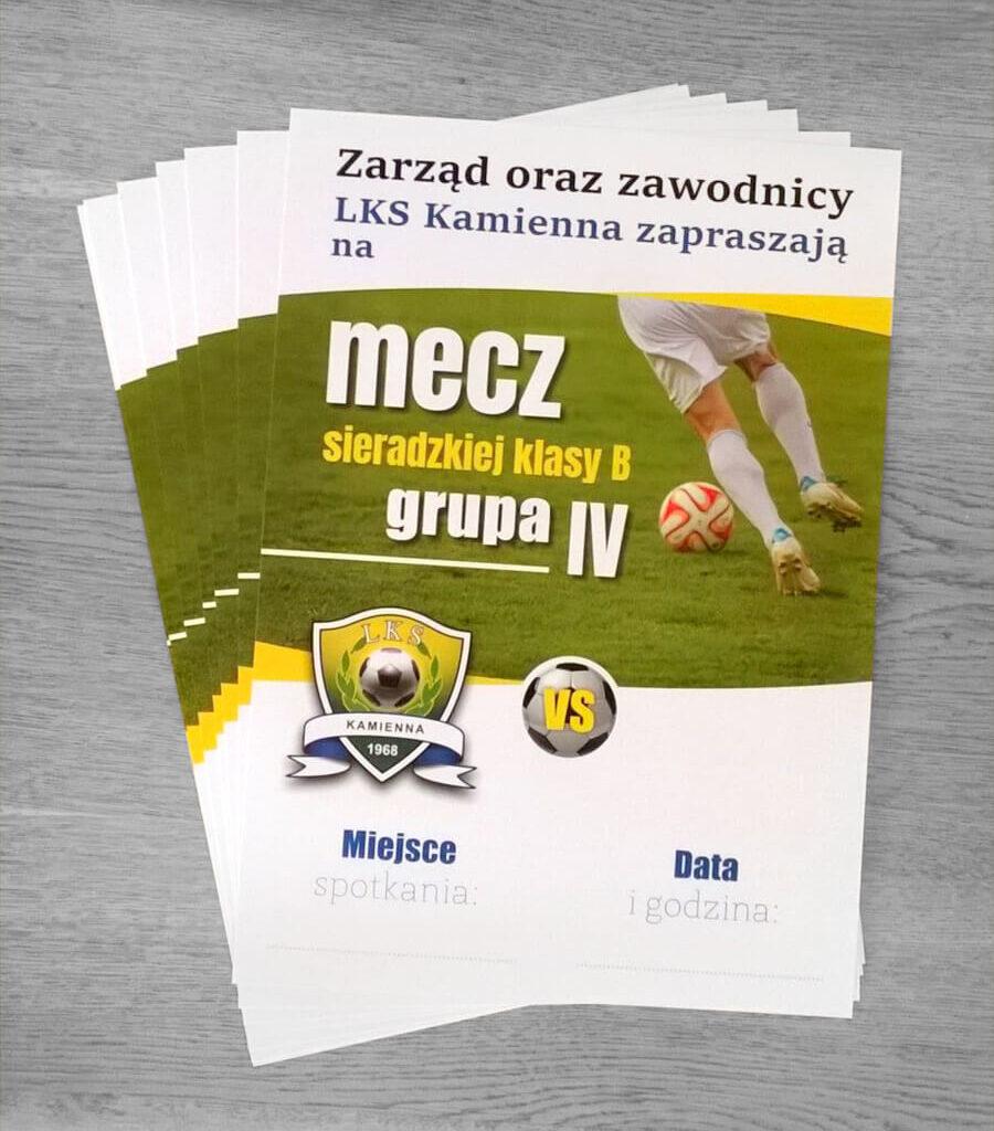 Plakaty informacyjne, plakaty A3